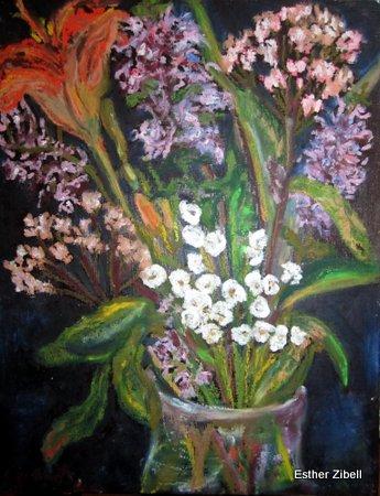 Shabbat Bouquet of Wild Flowers