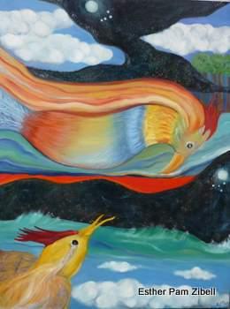 Cosmic birds 7