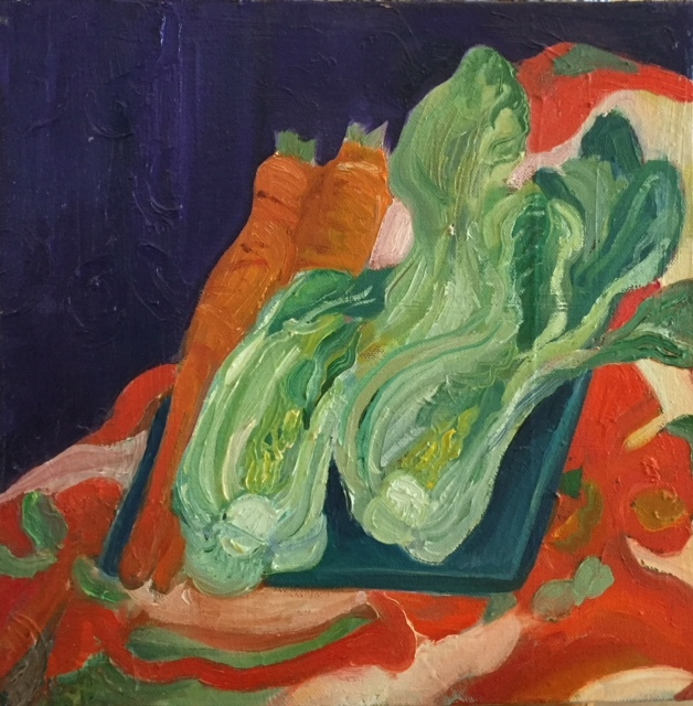 Still Life with Bok Choy