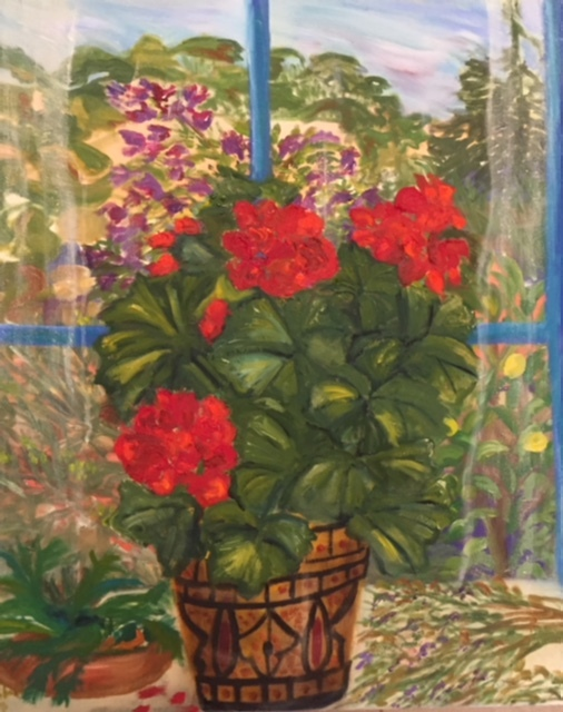 Still Life with Geraniums