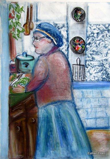 Ethel in the kitchen